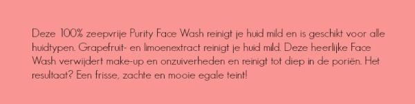purityfacewash